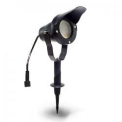 Projecteur OPTIMUM 20  Aluminium Noir - IP67 - MR20 - LED 6,5 W - Warm