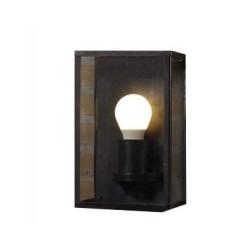 Applique Rouille HAMPTON BAY, Ampoule E27 non fournie, Max 60W, IP44, 230V, Classe II