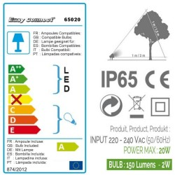 Pierre - GU10 - MR16 - LEDS 2 W - Warm