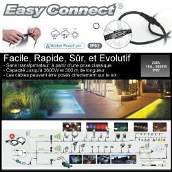 Mini Balise Inox + Tube PC (à piquer) LED 5W - H. 45 cm